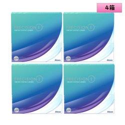 画像1: 日本アルコン プレシジョン ワン 90枚入 4箱セット<ワンデー コンタクトレンズ>