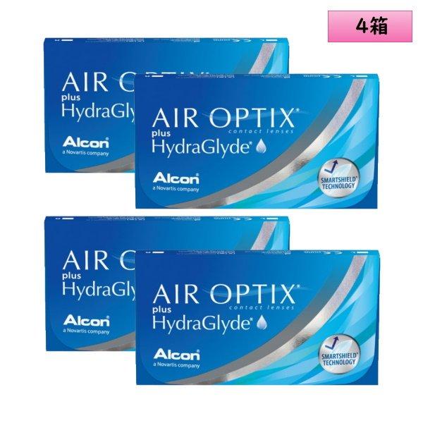 画像1: 日本アルコン エア オプティクス プラス ハイドラグライド 6枚入り 4箱セット (1)